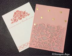 Stampin days; Detailed Floral, Floral Phrases , Stampin' UP!