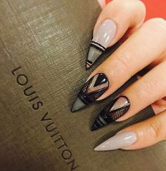 Image result for winter stiletto nails 2017