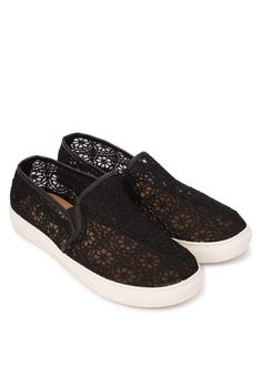 d1b94da3e27 ZALORA Primadonna Lace Slip On Sneakers www.zalora.com.ph