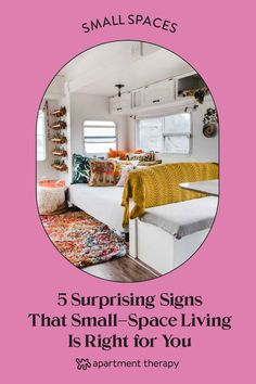 Here are five unexpected ways to tell that small-space living might be a good choice for you, according to people who have done it. Small Space Bedroom, Small Space Office, Small Space Storage, Small Space Kitchen, Small Space Organization, Small Laundry Rooms, Small Space Living, Small Spaces, Cleaning Ceilings