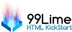 Ultra–Lean HTML Building Blocks for Rapid Website Production