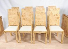 8 art deco dining chairs set chair modernist furniture art deco dining table 8