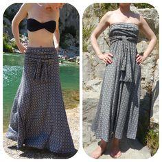 Patron jupe/robe bain de soleil
