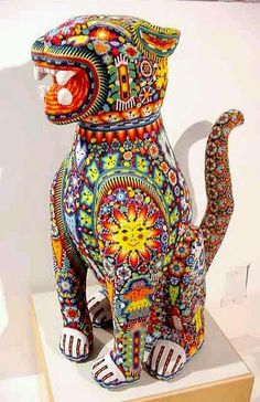 Huichol PantherMore Pins Like This One At FOSTERGINGER @ PINTEREST No Pin Limitsでこのようなピンがいっぱいになるピンの限界