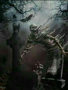 Awesome graveyard image