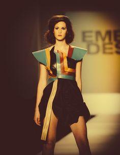Sabrina Spanta at Charleston Fashion Week.