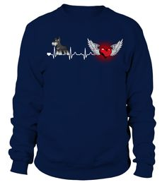 Heartbeat Giant Schnauzer Dog  #gift #idea #shirt #image #doglovershirt #lovemypet