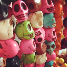 Semi-Precious Skull Bracelets | www.jacyandjools.co.uk