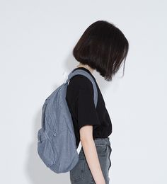 Korean Fashion – How to Dress up Korean Style – Designer Fashion Tips Style Ulzzang, Ulzzang Girl, Ulzzang Short Hair, Grunge Style, Soft Grunge, Korean Girl, Asian Girl, Korean Bob, Blue Sargent