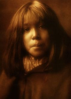 Mohave Child 1907. Photograph by Edward S. Curtis's The North American Indian.