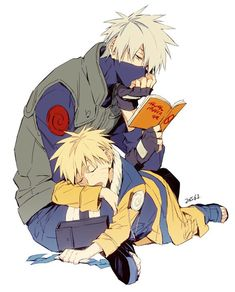 kakashi x little naruto