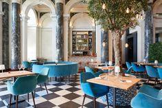 Die Lokale des Monats | annabelle.ch Buffet, Café Bar, Lokal, Dining Table, Table Decorations, Drinks, Furniture, Home Decor, Gourmet