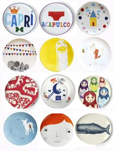 melamine plates on 101woonideeen blog with more inspiration