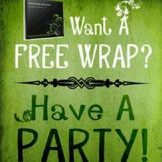 Free wraps when hosting a party.http://www.bodywrapparties.com/JK15969/