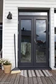 Image result for black aluminium french doors