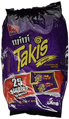 Barcel Mini Takis Fuego Hot Chili Pepper Lime Corn Snack 25 Single Packs *** To view further for this item, visit the image link. (This is an affiliate link and I receive a commission for the sales) Corn Snacks, Junk Food Snacks, Lava Cake Recipes, Lava Cakes, Crab Recipes, Snack Recipes, American Girl Doll Room, Cereal Bars, Hottest Chili Pepper