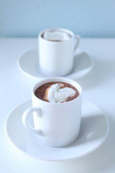 Honeyed Hot Chocolate - Shauna Sever » Blog