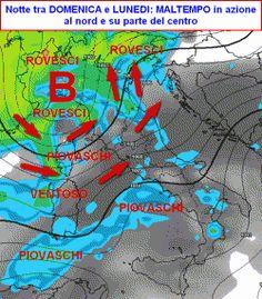 Tra le righe...: Meteo a 7 giorni: aprile si congederà sotto l'impeto di TEMPORALI e ROVESCI