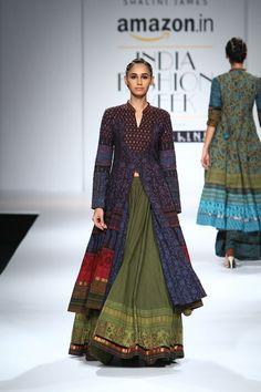 nice Shalini James at Amazon India Fashion Week Spring/Summer 2016