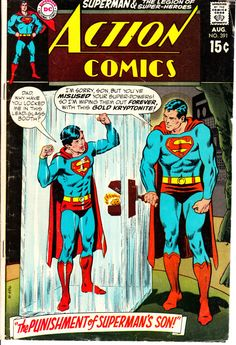 Action Comics 1938 DC 391 August 1970 Issue DC by ViewObscura