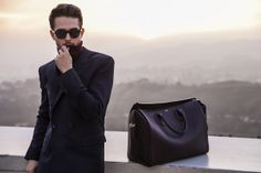 dad1450a3df4 WEARING  Navy coat Burgundy knit Porthos double monk strap leather  reversable jacket Bloom bag sunglasses (similar here) I m so excited to  share a new ...