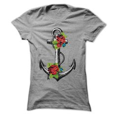 Anchors Away T-Shirts, Hoodies. GET IT ==► https://www.sunfrog.com/LifeStyle/Anchors-Away-Ladies.html?id=41382