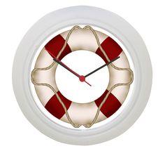 Wonderful Lifebuoy Wall Clock Check more at…