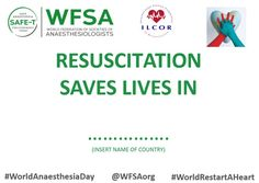 Join the WFSA's World Anaesthesia Day resuscitation campaign, joining with World Restart a Heart We are asking anaesthesiologists around the world to . Buzzfeed Articles, Country Names, Heart Day, Investing, November, Campaign, Medical, Social Media, Songs