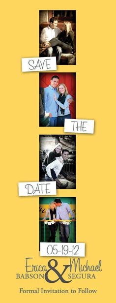 our save the dates! :)