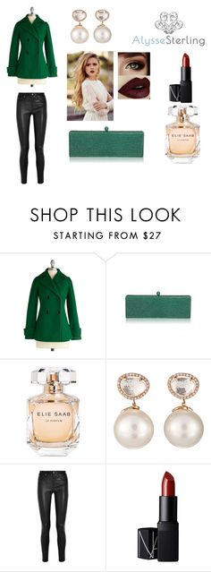"""""""Alysse Sterling Festive Pairings"""" by alyssesterling ❤ liked on Polyvore featuring Elie Saab, Samira 13, Helmut Lang and NARS Cosmetics"""