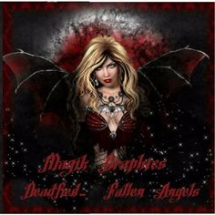 New from Magik Graphics - Dead Red - Fallen Angels #Craftfest£12.99