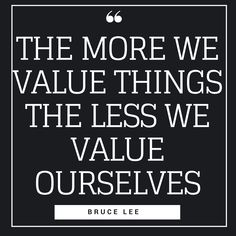 The Bruce Lee philosophy is very similar to the way I am thinking maybe it's because I was reading his quotes when I was 7 years old and he changed my life. Hi Quotes, Minimalist Quotes, Bruce Lee Quotes, Our Values, Simple Quotes, Pinterest Pin, Change My Life, Quote Of The Day, Philosophy