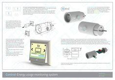 Control system - presentation board by Konrad Szmit