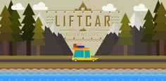 NEW GAME : LIFT CAR Road race with a car that works in three steps lifting! PLAY Android : https://play.google.com/store/apps/details?id=com.OkidokiGames.LiftCar…