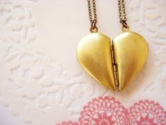 """A. Dorable. Classy update of the """"best friend"""" necklace."""