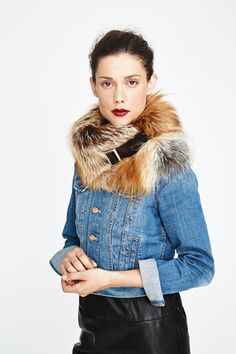 Gold Fox Chelsea Fur #Collar