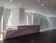 The backlit panels produce a glittering effect as visitors walk through the space. (courtesy Situ Fabrication)