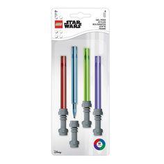 Grymma ljussabelpennor för färgglada, kreativa äventyr Star Wars, Lego War, Lightsaber, Gel Pens, Office Supplies, Stars, Products, Lights, Stationery Set
