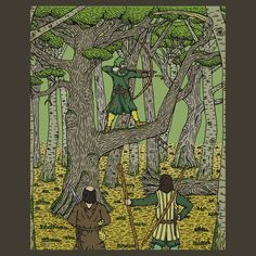 SOLD 9/5/2016 through Redbubble to a customer in the US: 1x Classic T-Shirt of Robin in Sherwood.