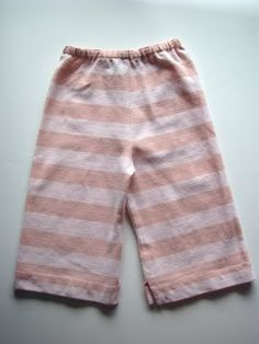 My old JCrew shirt = Newborn Hat and Pants!
