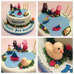 Birthday #Cake #GeorgePig #PeppaPig