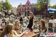 Enjoy the sun at the Neude (square). #Utrecht