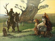 #NationalSiblingsDay: Freyr & Freyja by Richard Pace