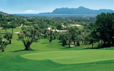 Golf course in Spain, golfbaan in Spanje