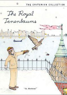 Wes Anderson's The Royal Tenenbaums (Rushmore* - The Life Aquatic w/ Steve Zissou* - The Darjeeling Limited* - Moonrise Kingdom* - Bottle Rocket*)