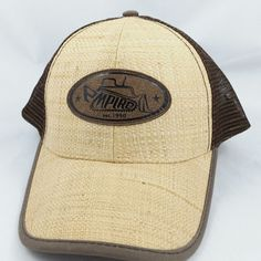 Empire Cat Caterpillar Straw Mesh Snapback Baseball Cap Hat Adjustable #CAT #BaseballCap