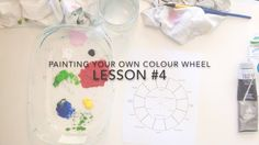 Painting a Colour Wheel VIDEO LESSON #4, is a step-by-step lesson, that will show you and your students, how to create your own colour wheel through careful observation and colour-mixing practice.