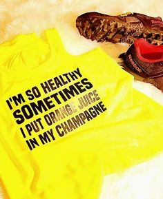 Perfect tank for a trail run or just sipping mimosas!!