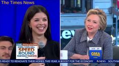 Stephanopoulos rescues Hillary Clinton from answering an awkward question about Bill