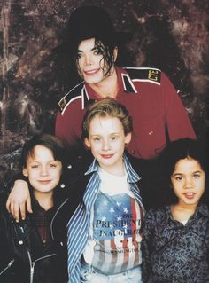 Michael Jackson Exclusive Very Rare Foto/Photo MACAULEY